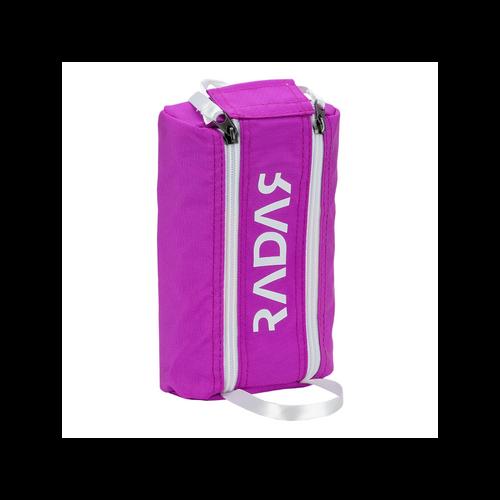 Front Facing Purple Radar Wheelie Bag from Roller Skate Nation