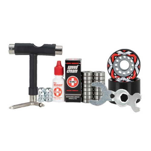 Riedell Cayman Indoor Wheel Combo Kit