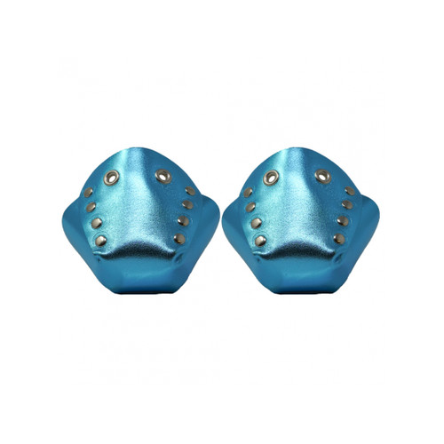 Metallic Leather Toe Caps
