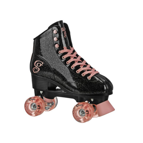 *NEW* Candi Grl Sabina Black Rose Indoor/Outdoor Skates
