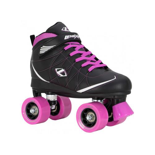 Front Facing Orchid/Pink *NEW* Lenexa Hoopla Roller Skates from Rollerskatenation