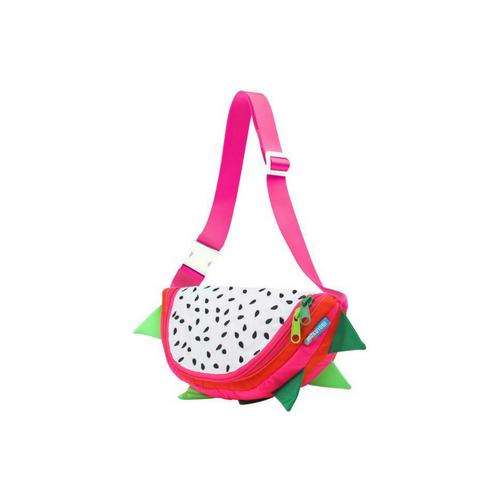 Front Facing Dragonfruit Pink Mokuyobi Fanny Pack from Roller Skate Nation 1