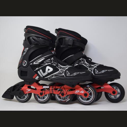 Slightly Used FILA Legacy Pro 84 Inline Skates | Mens 13