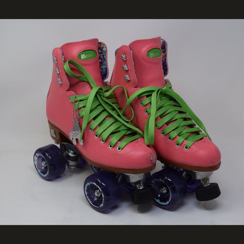 Slightly Used Moxi Beach Bunny Watermelon Roller Skates | Mens 6 (Ladies 7)