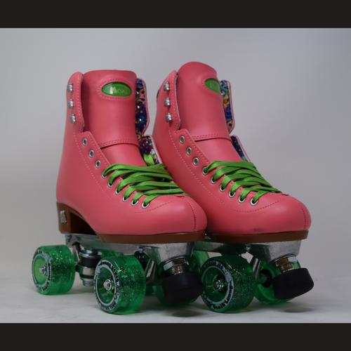 Slightly Used Moxi Beach Bunny Watermelon Roller Skate | Mens 6 (Ladies 7)