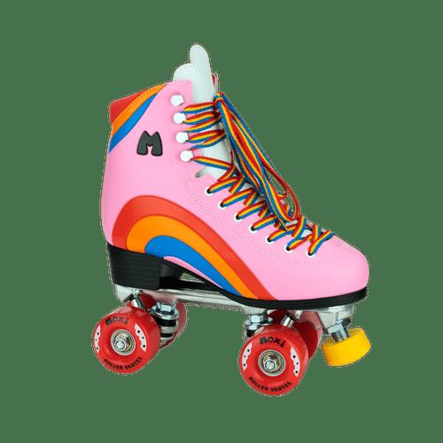 Moxi Rainbow Rider Outdoor Roller Skates | Pink, Youth 3