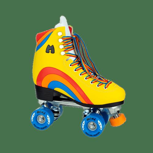 Moxi Rainbow Rider Outdoor Roller Skates | Yellow, Youth 3
