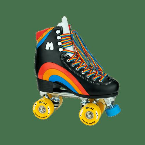 Moxi Rainbow Rider Outdoor Roller Skates | Black, Youth 3