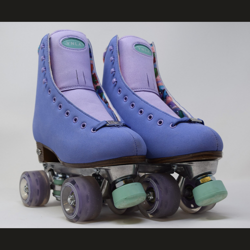 Slightly Used VNLA Parfait Outdoor Roller Skates | Purple, Ladies 7