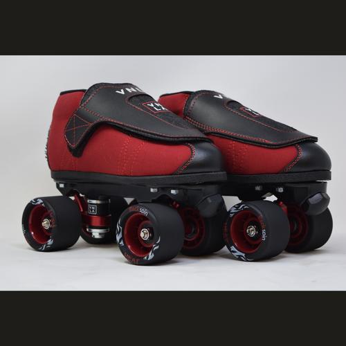 Slightly Used VNLA Jr. Code Red Jam Skates | Men's 5 (Ladies' 6)