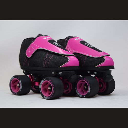 Slightly Used VNLA Jr. Zona Rosa Jam Skates | Youth 3 (Ladies 4)
