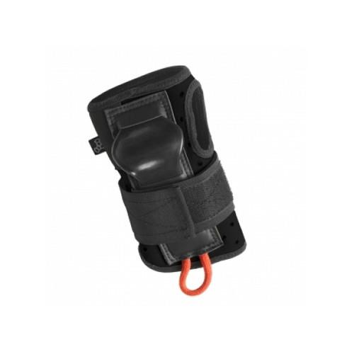 Front Facing Black Triple 8 Roller Derby Wrist Pads from Roller Skate Nation