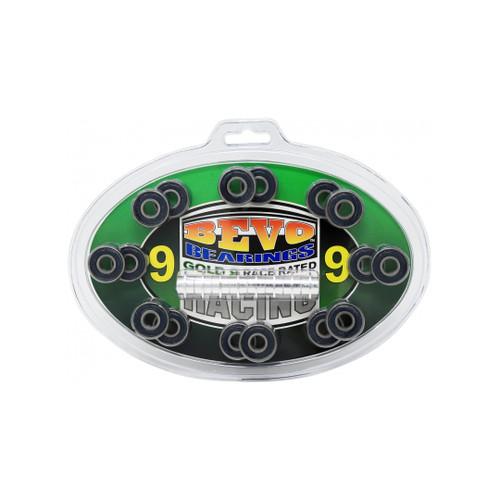 Front Facing Roller Derby Bevo Bearings ABEC-9 from Roller Skate Nation
