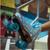 Blue Sure-grip Prism Roller Skates