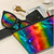 Open Facing Metallic Rainbow Fydelity Fanny Pack from Roller Skate Nation
