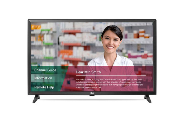 "32"" LG LED TV Comml  Non-Pro:idiom"