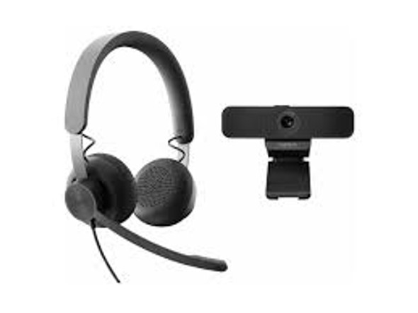 Logitech Zone Wired Headset UC Version and C925 Webcam