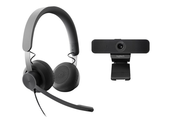 Logitech Zone Wired Headset UC Version C925 Webcam