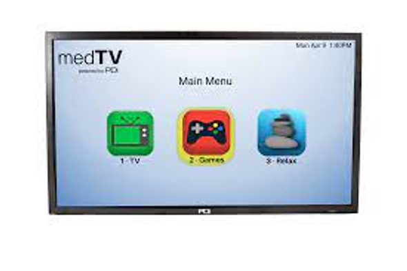 "32"" A-Series Enhanced Entertainment Hospital TV with Integrated Pro:Idiom"