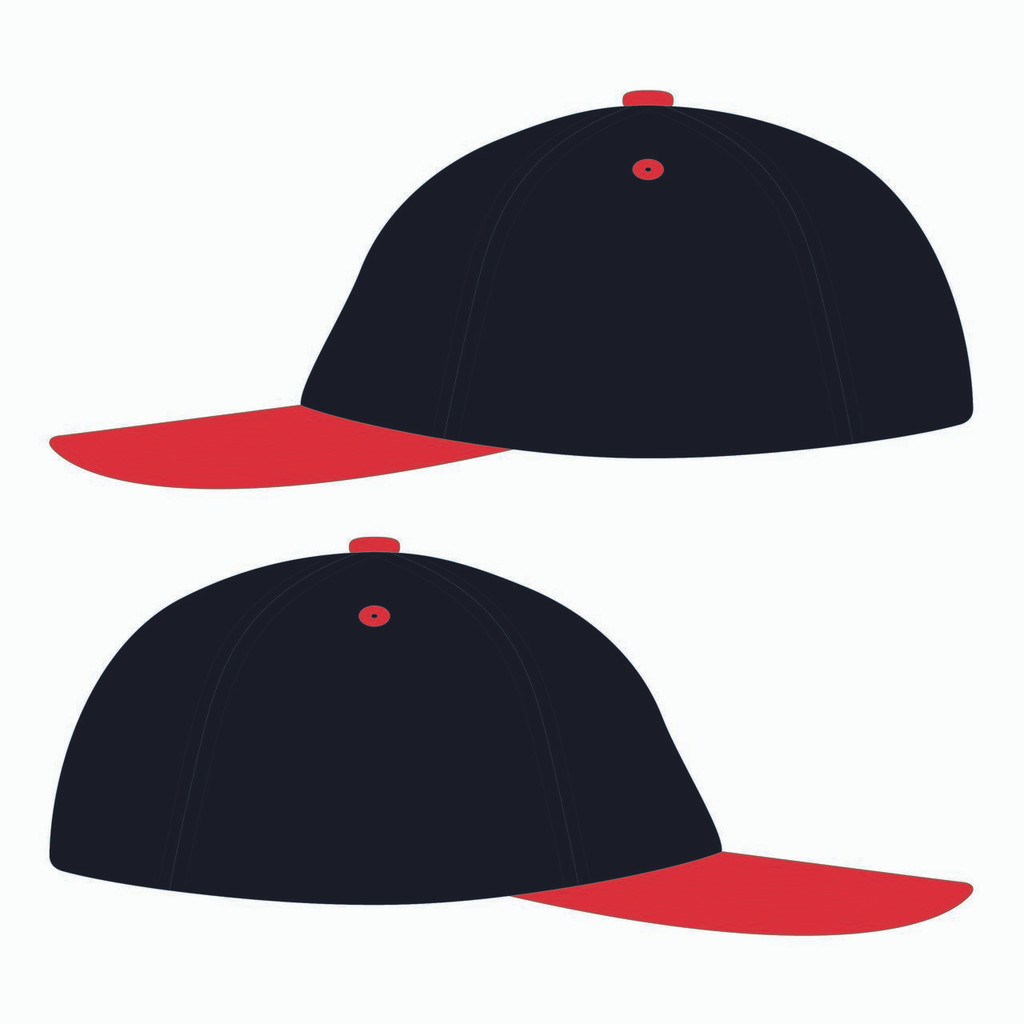 Sides of 90s Throwback Black/Red Design