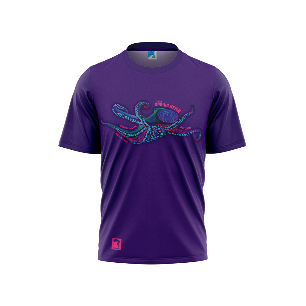 Spring Reign Purple Sub Short Sleeve