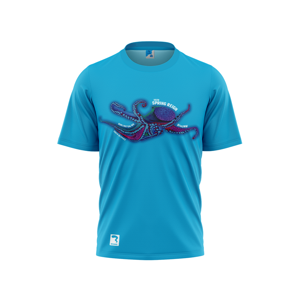 Spring Reign Electric Blue Sub Short Sleeve