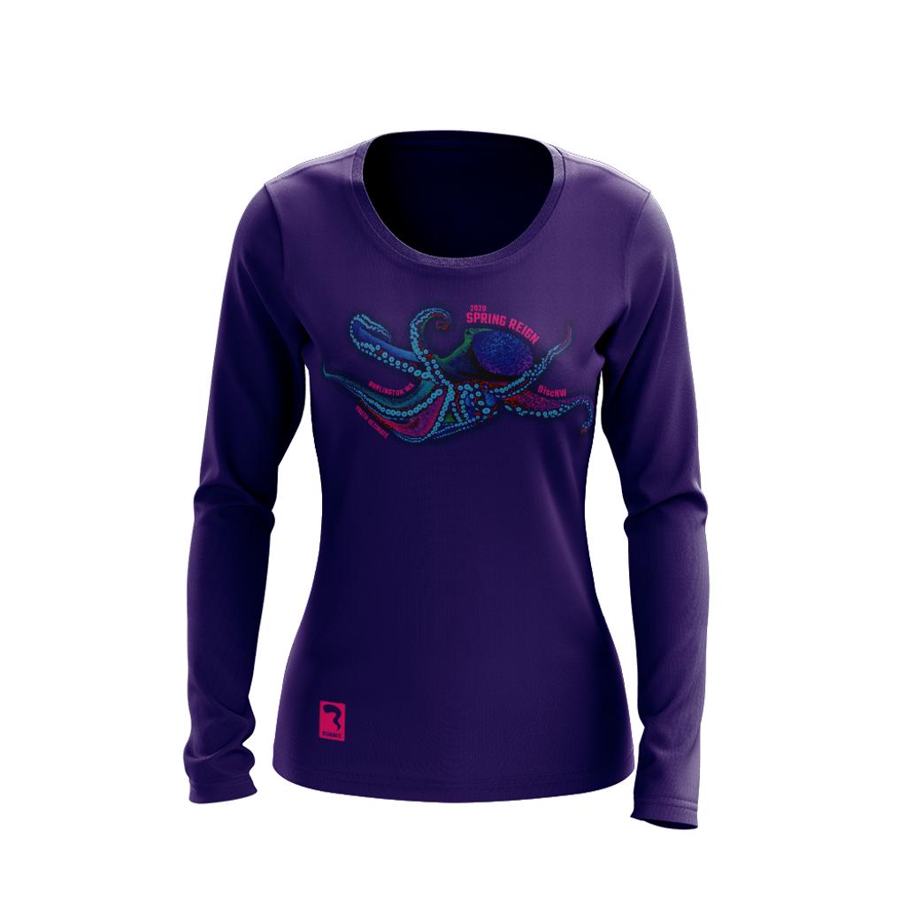 Spring Reign Purple Sub Long Sleeve