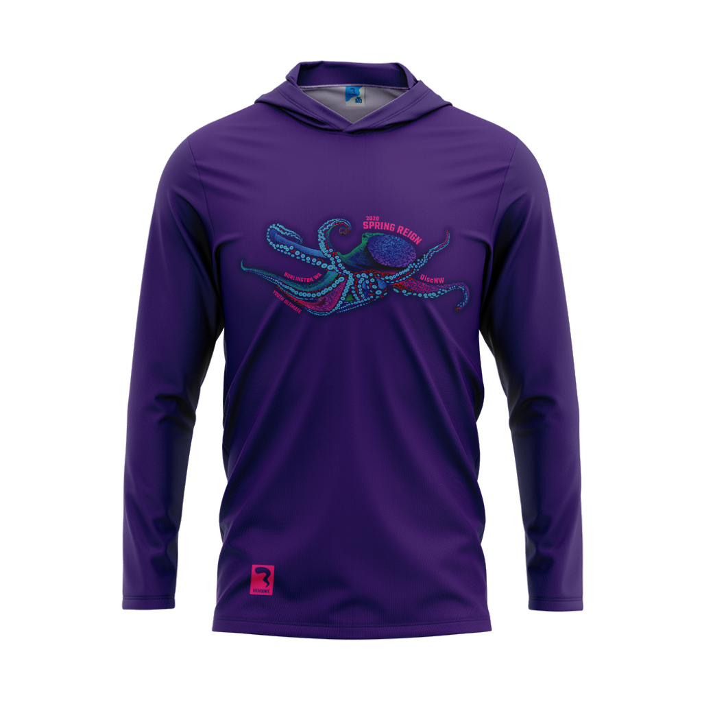 Spring Reign Purple Sub Long Sleeve Hood