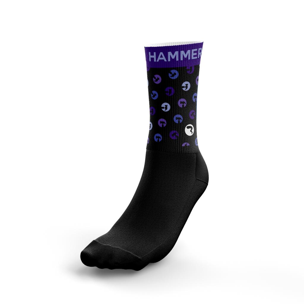 Triangle Hammers Dark Socks