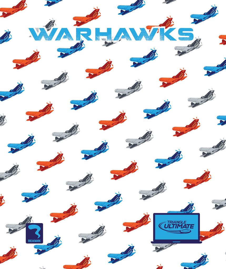 Triangle Warhawks Light Towel