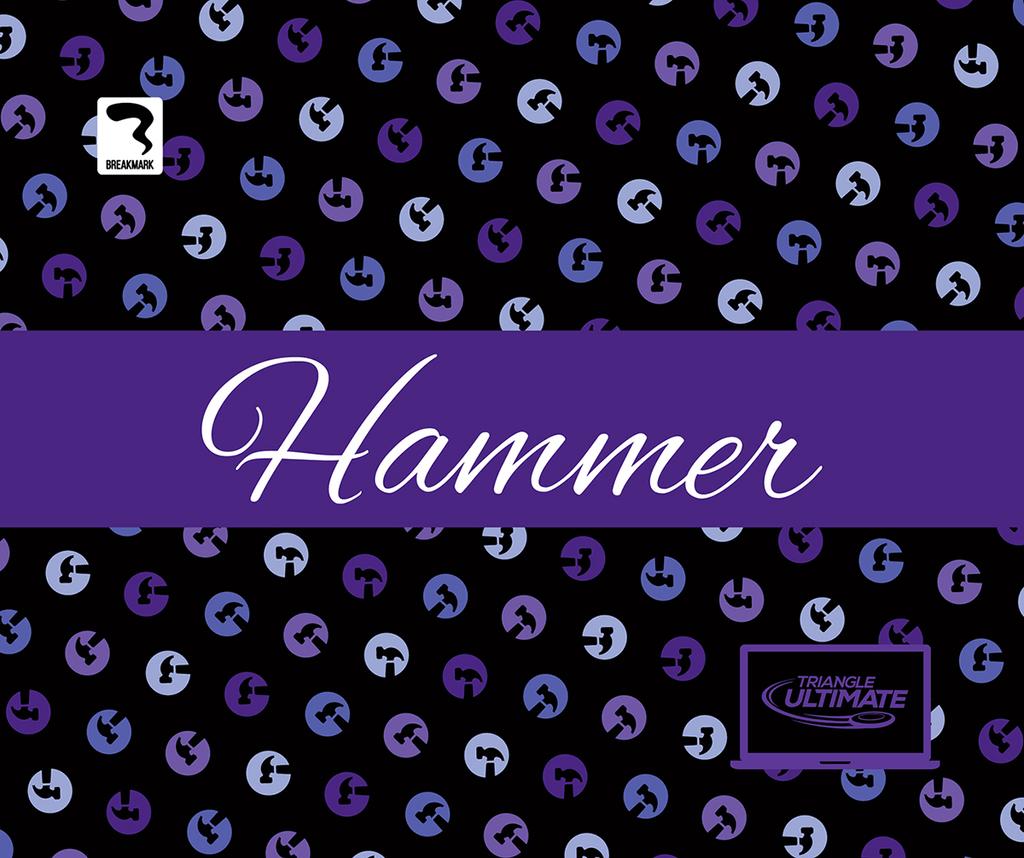 Triangle Hammers Dark Towel