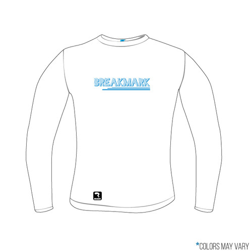 Breakmark Screen Print Long Sleeve Front Light