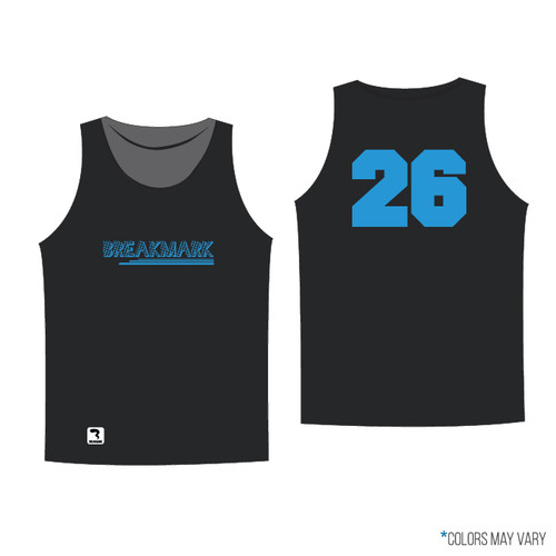 Breakmark Screen Print Tank Dark