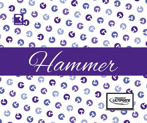 Triangle Hammers Light Towel