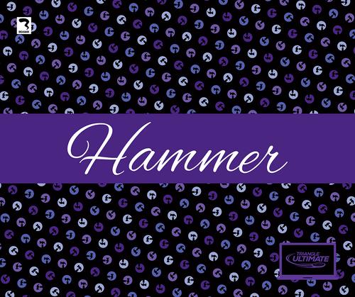 Triangle Hammers Dark Blanket