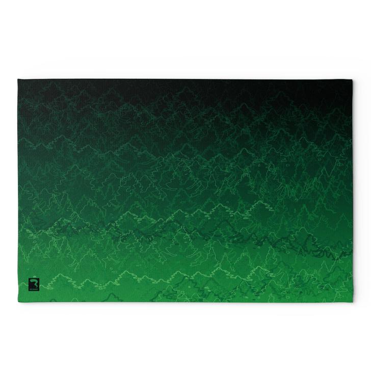 Vibrate Green Blanket
