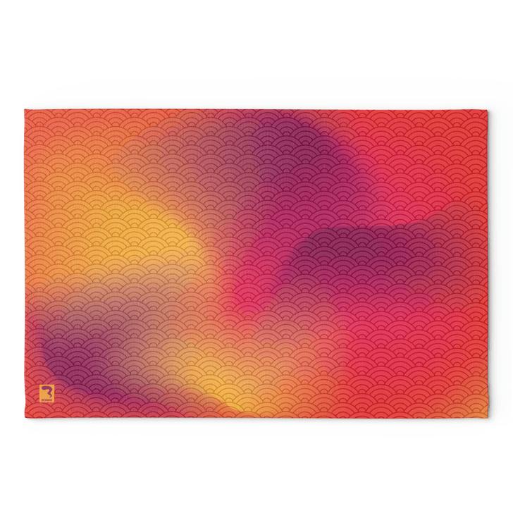 Waves Sunrise Blanket
