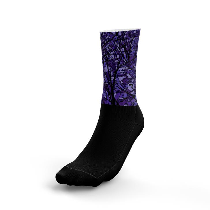 Pods Purple Socks