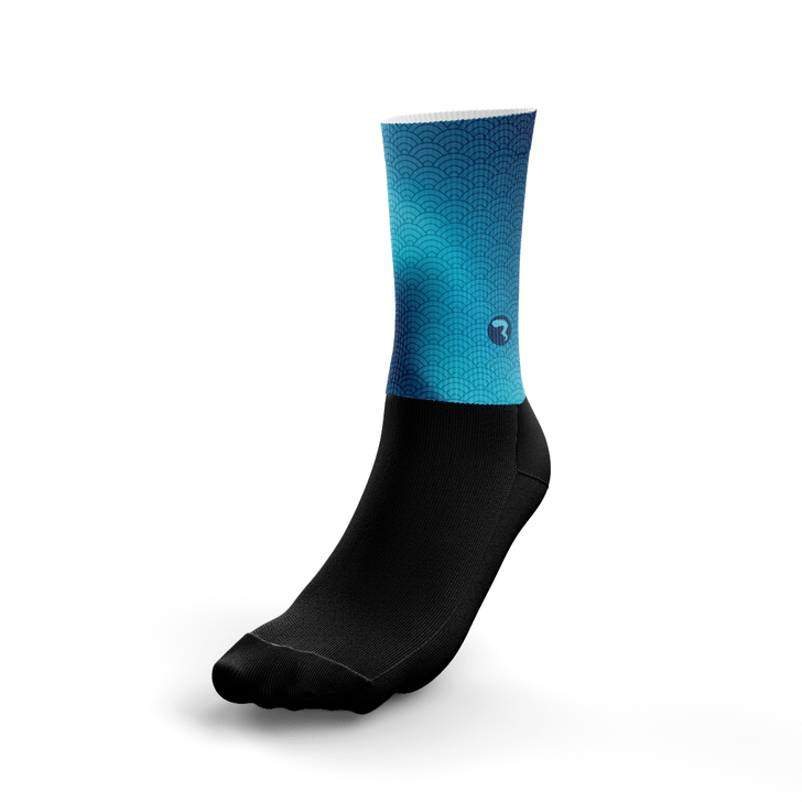 Waves Ocean Socks