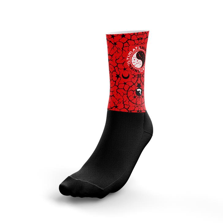 Maine Ultimate Red Socks