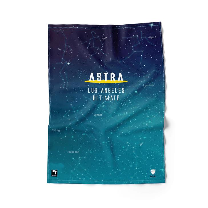 Los Angeles Dark Beach Towel