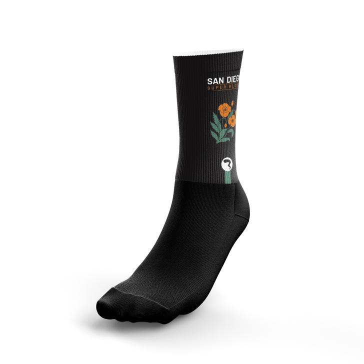 San Diego Dark Socks