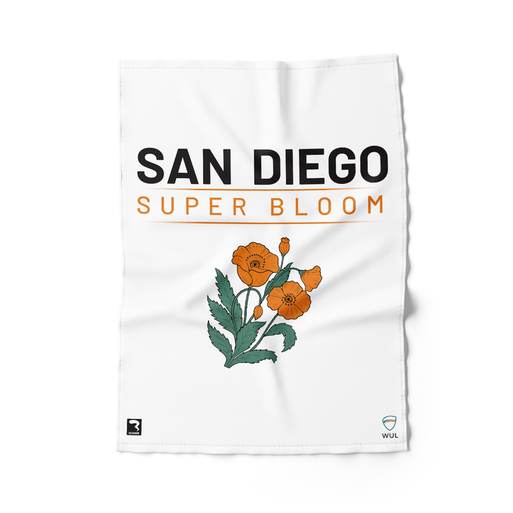 San Diego Light Beach Towel