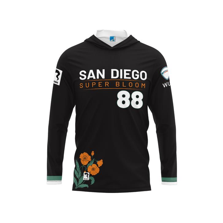 San Diego Dark Long Sleeve Hood