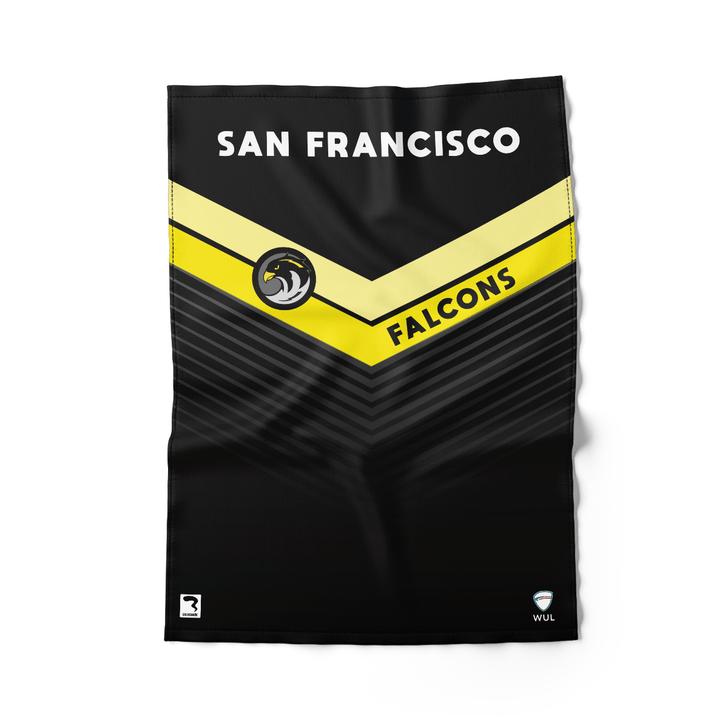 San Francisco Dark Beach Towel