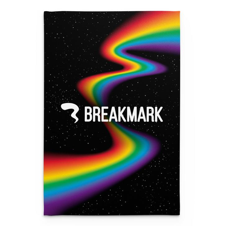 Space Rainbow Blanket
