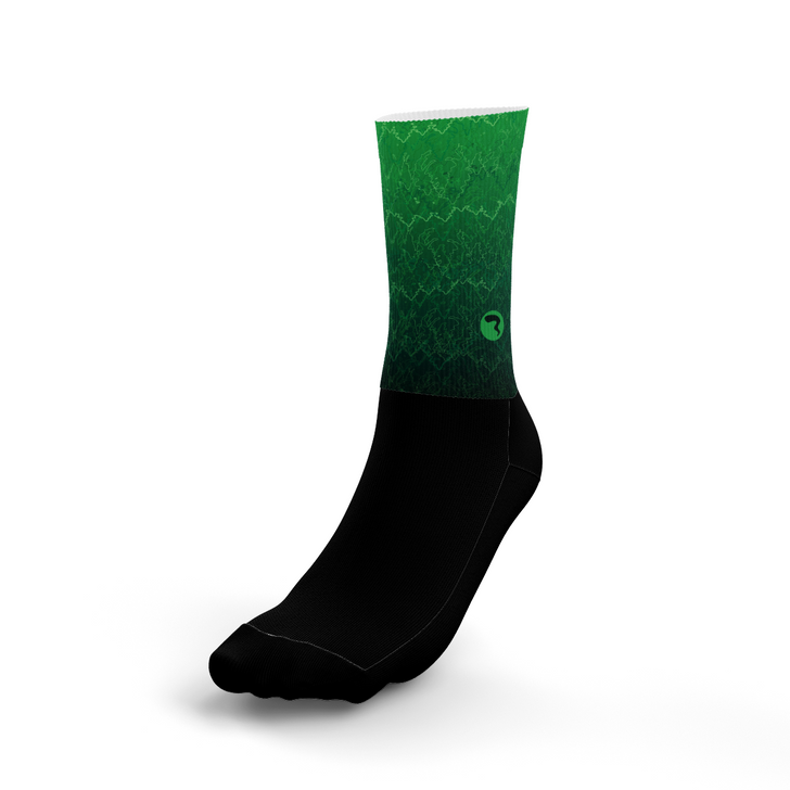 Vibrate Green Socks