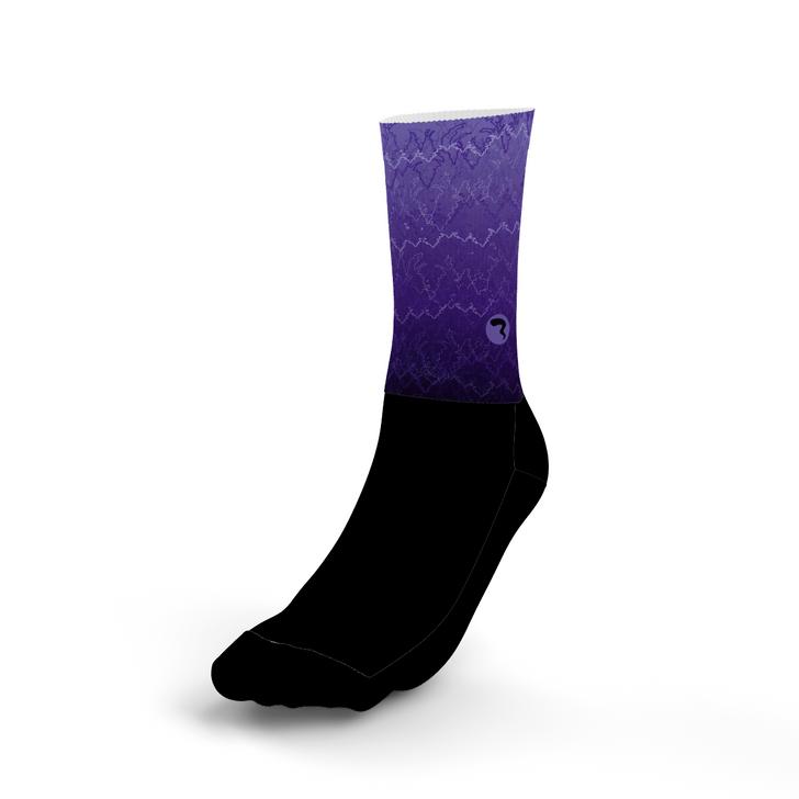 Vibrate Purple Socks