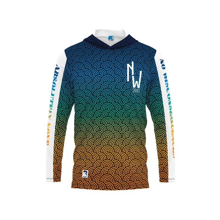 No Wisconsequences Warm Up Long Sleeve Hood