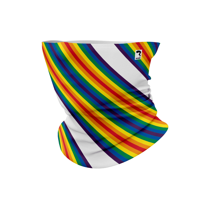 Rainbow Stripes White Bana